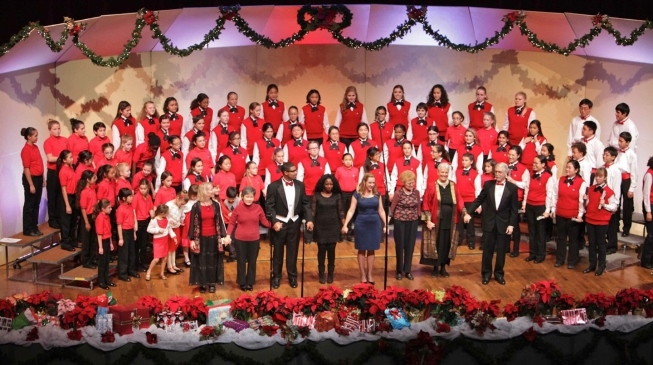 The South Bay Children's Choir (SBCC) will present its popular holiday program at 4 p.m. Dec. 2 in Marsee Auditorium.