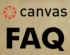 Canvas FAQ