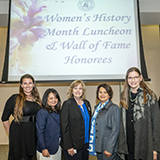 Women's History Month/Wall of Fame Luncheon 2019
