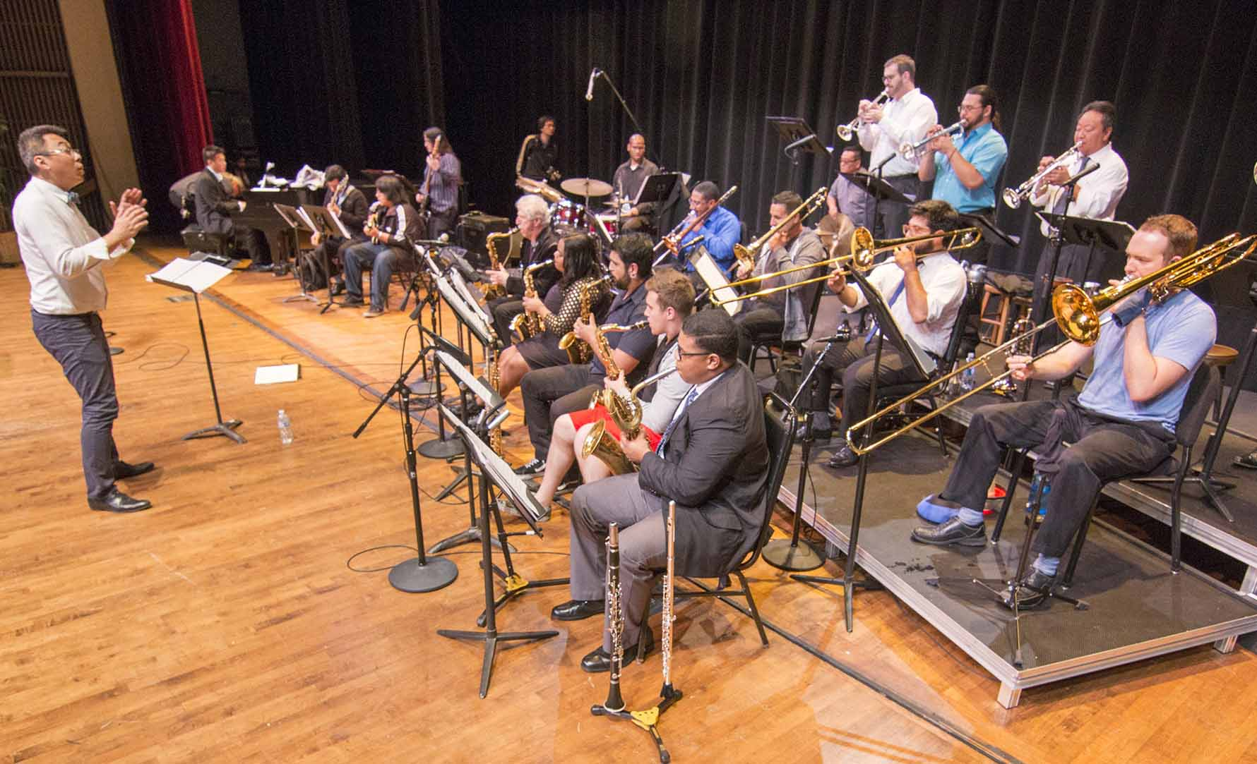 El Camino College's Center for the Arts, the Fine Arts Division and Jazz @ El Camino College will present a daylong series of musical performances and workshops in Marsee Auditorium on May 11.