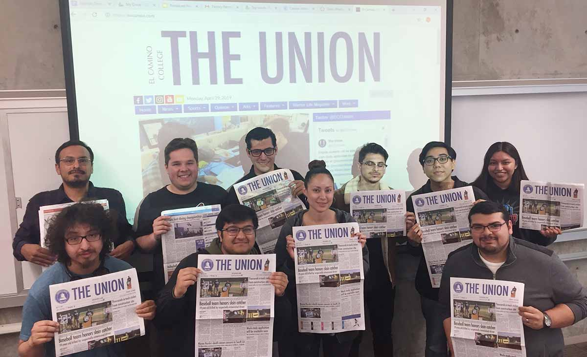 El Camino College journalism students recently won multiple awards in national, state and regional contests where newspaper, digital media and magazine content were entered into various competitions.