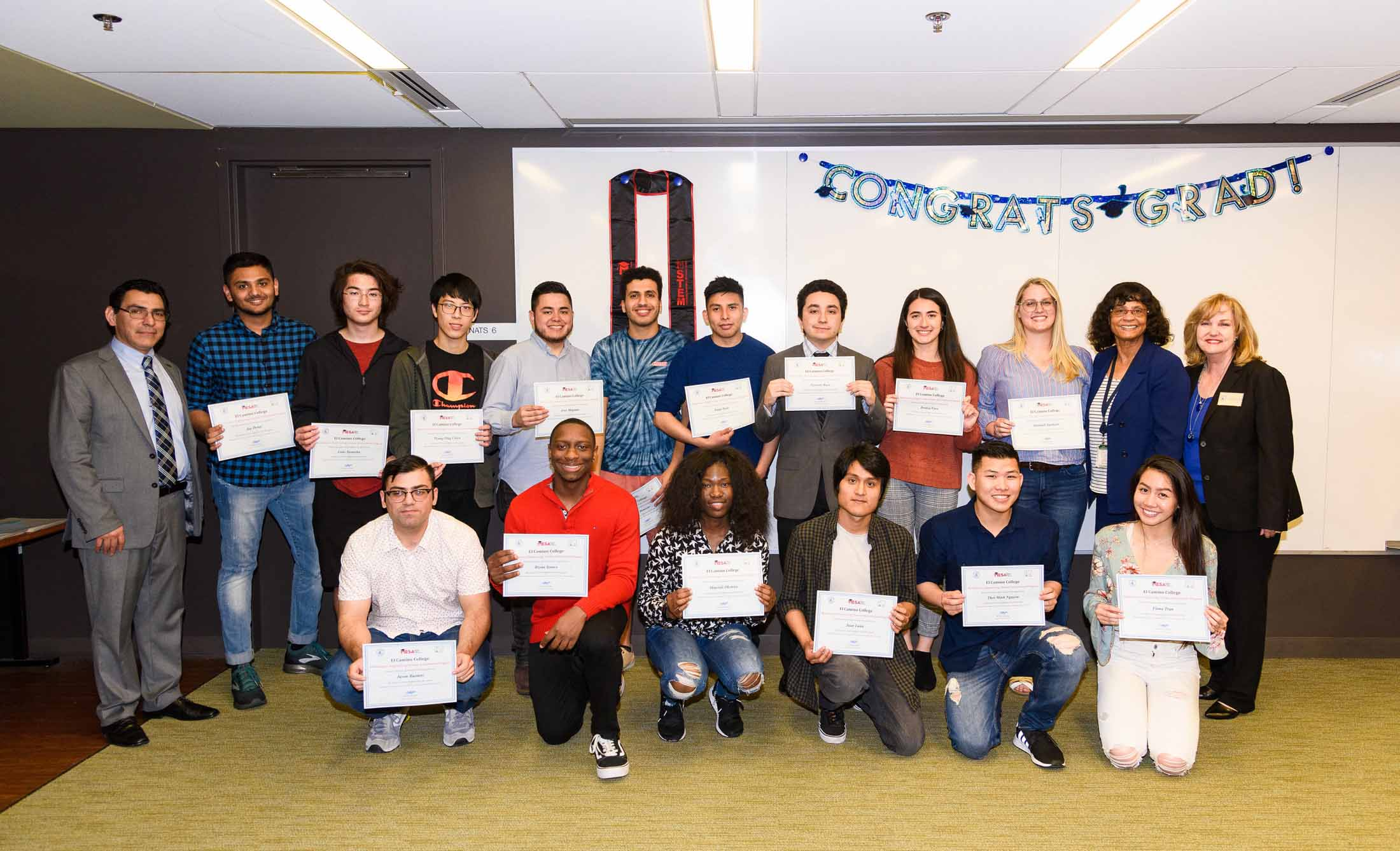A $25,000 grant from Edison International will make the academic goals of numerous El Camino College students possible this year
