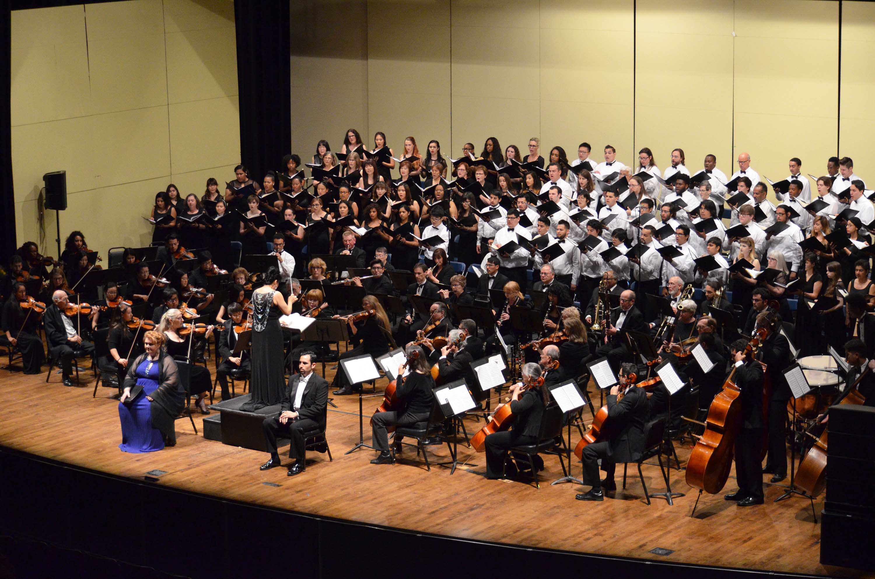 A variety of choral performances will be presented this fall, featuring highlights of student work and holiday themes.