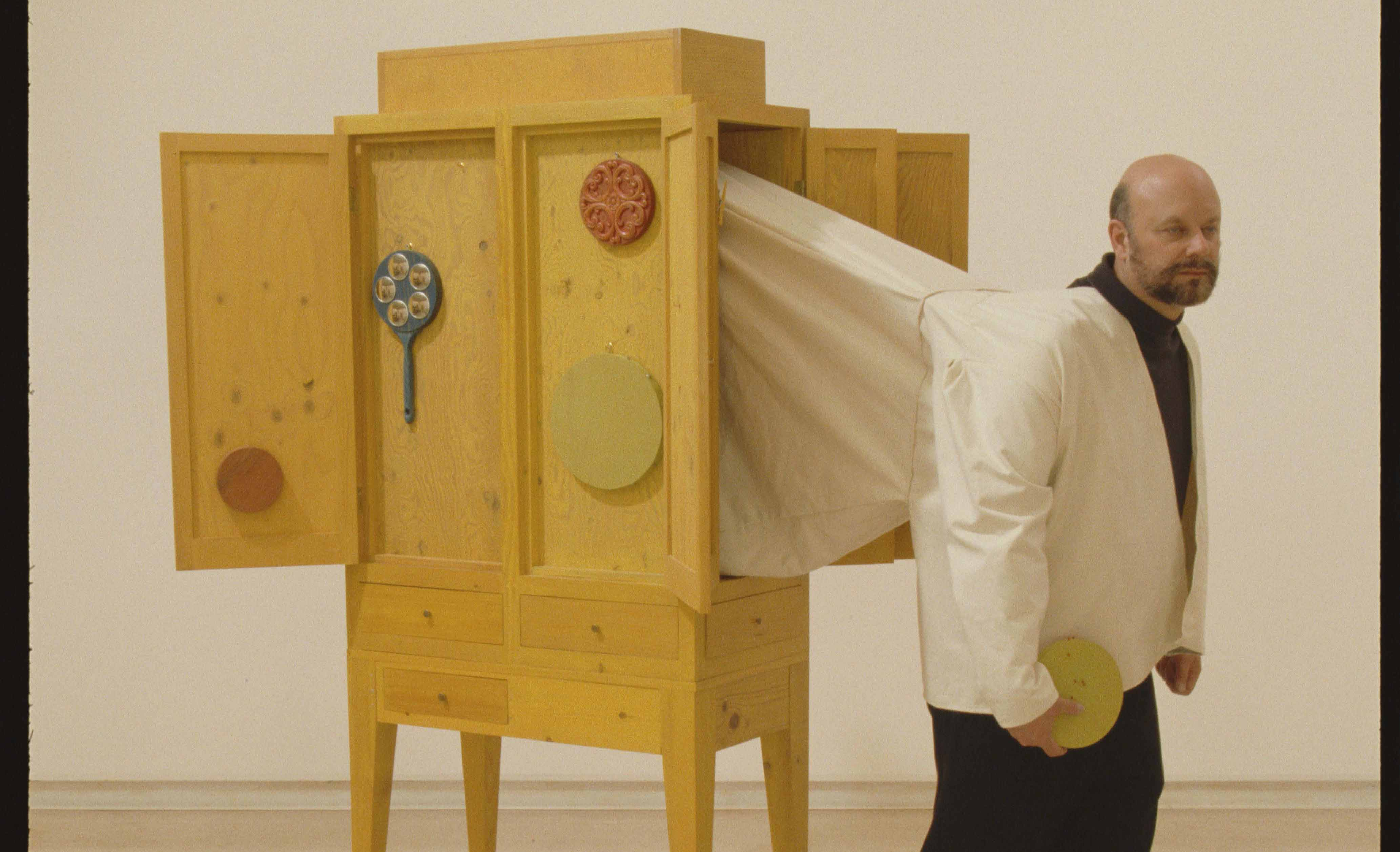 """The El Camino College Art Gallery will present the work of four Southern California artists in an exhibition of non-utilitarian furniture titled """"But Can You Sit On It?"""" throughout October."""