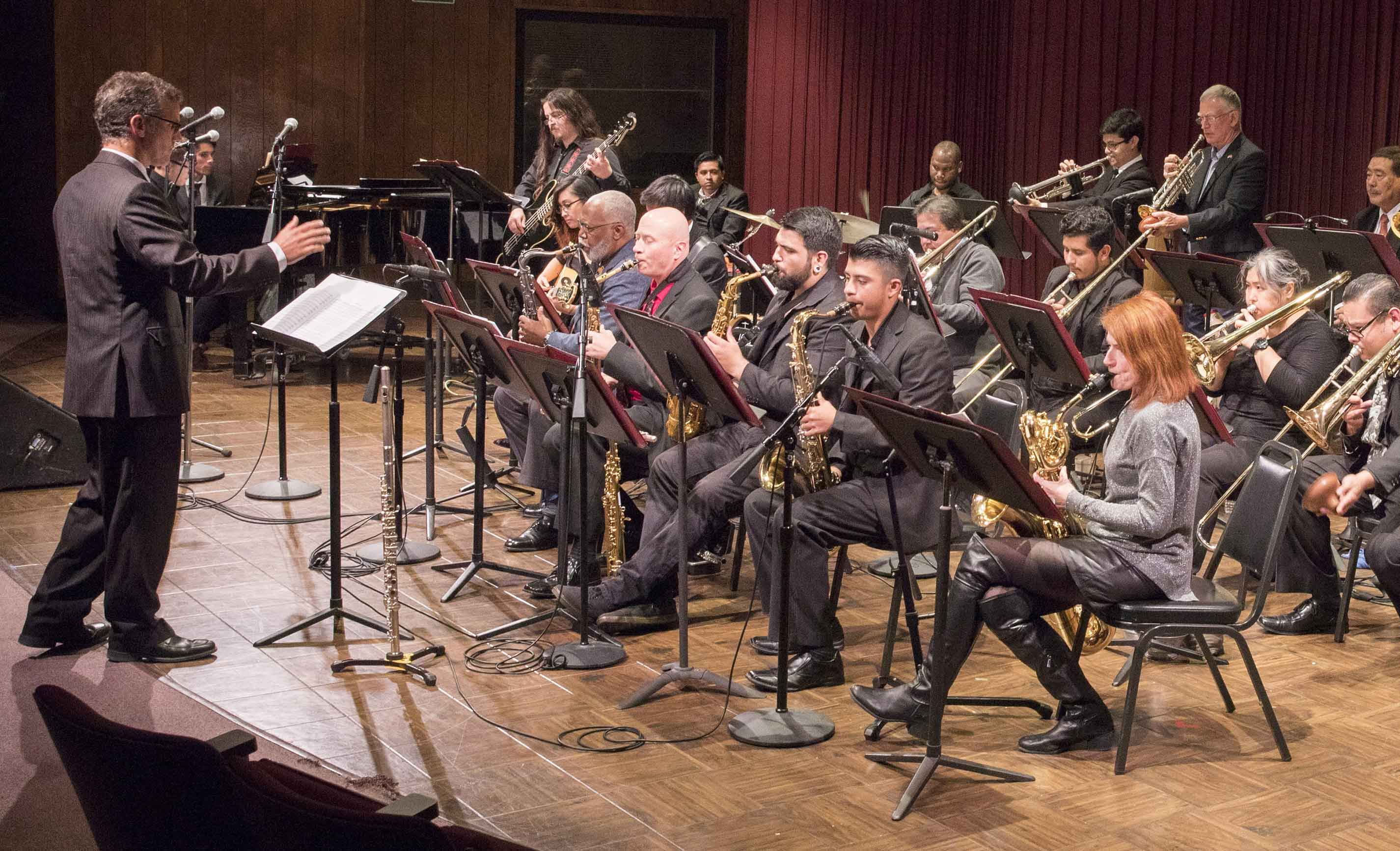 "The El Camino College Concert Jazz Band will present ""Ritmo Caliente"" at 8 p.m. May 22 in Marsee Auditorium."