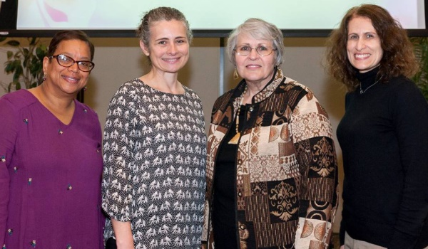 Four successful women were recently honored at the 2018 El Camino College Women's History Month & Wall of Fame Luncheon.