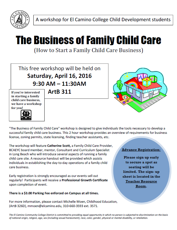 Family Care Workshop