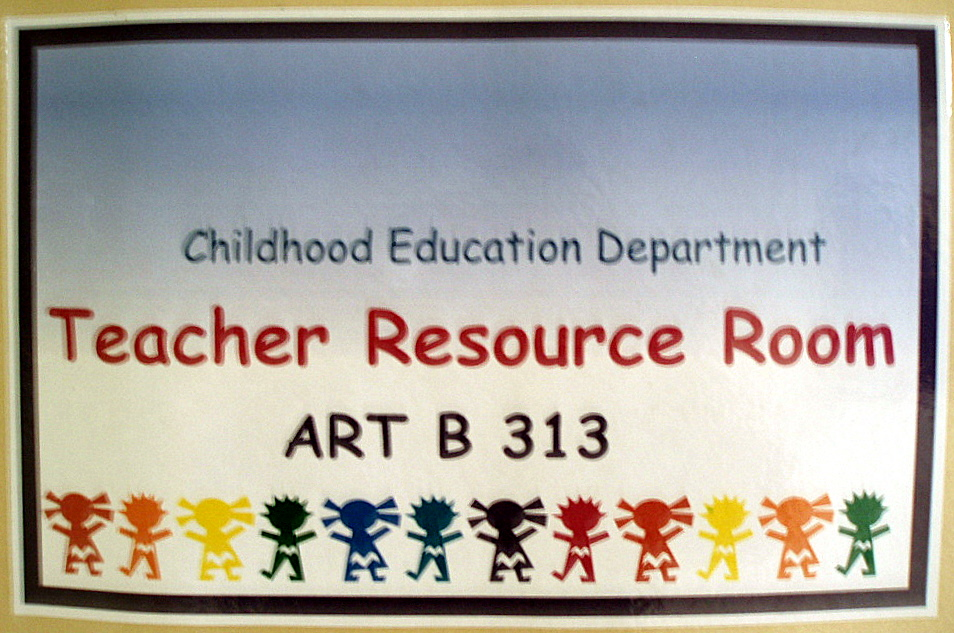 Teacher Resource Room
