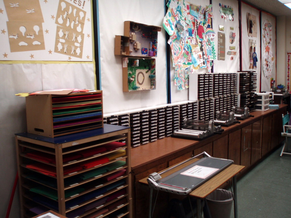 Inside the Teacher Resource Room