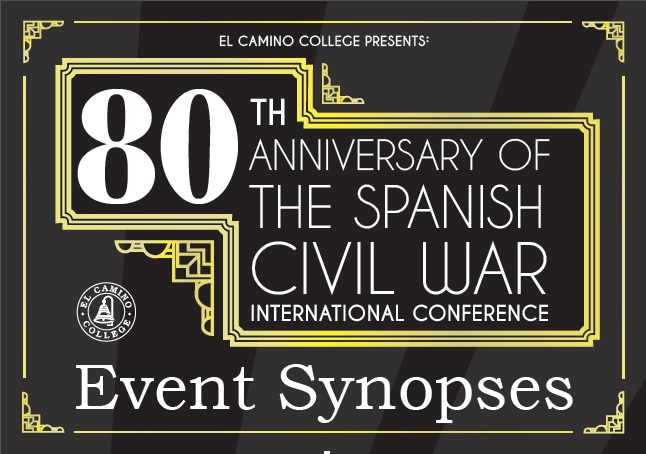 Eightieth Anniversary of the Spanish Civil War Event Synopses