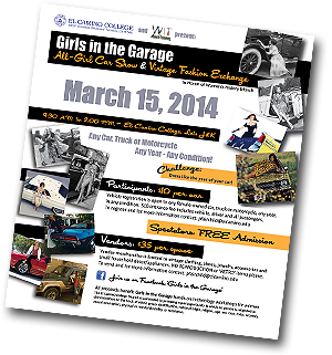 Girls in the Garage Flyer