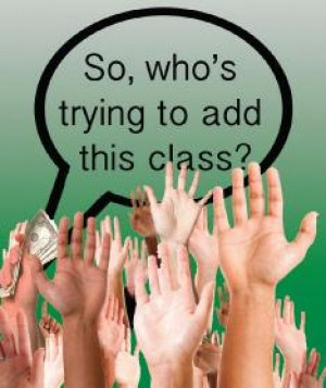 Students want to add class