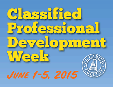 Classified Professional Development Week Program PDF