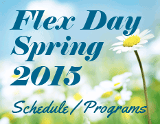 Flex Day Spring 2015 Schedule