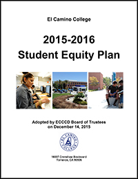 El Camino College Student Equity Plan Download Link