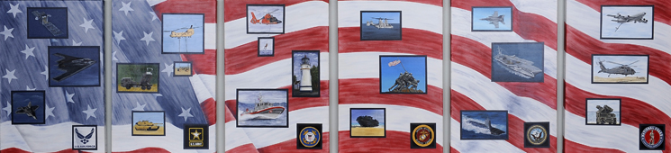 Veterans Resource Center Artwork