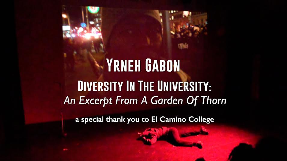 Yrneh Gabon: Diversity In The University; An Exceprt From A Garden Of Thorn