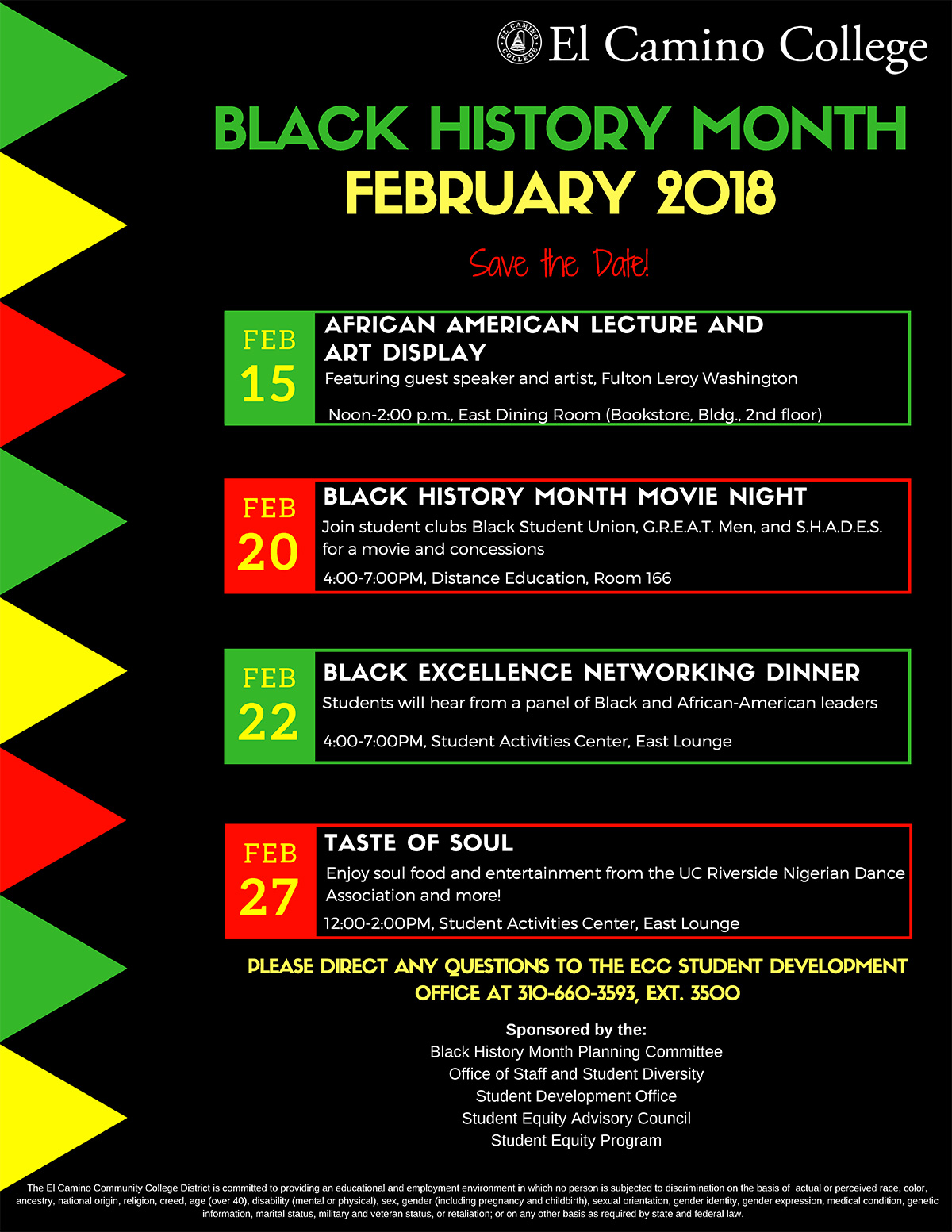 2018 Black History Month Events
