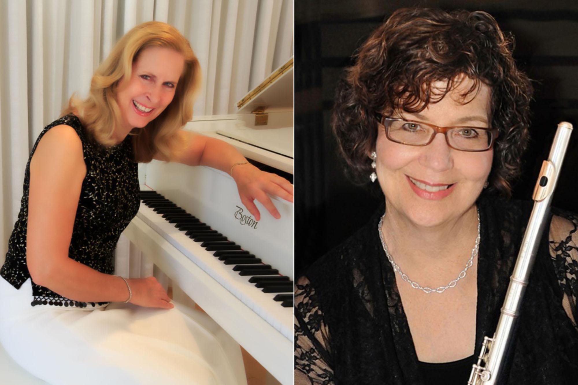 Kristi Lobitz, piano & Susan Greenberg, flute
