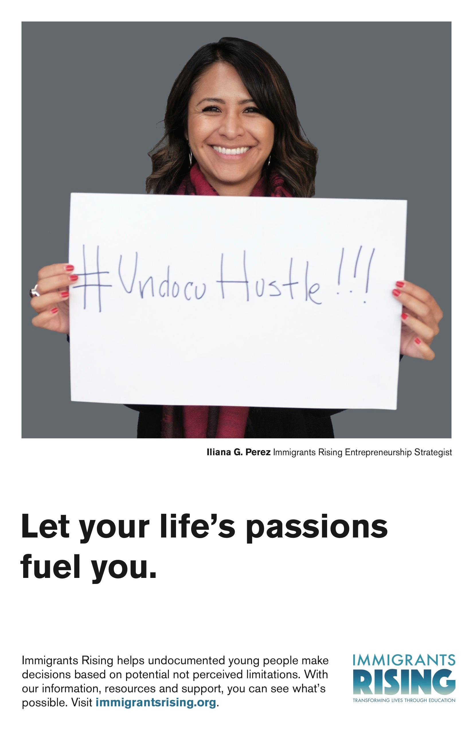 Let your life's passions fuel you