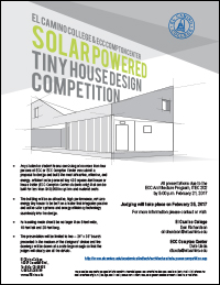 Solar Powered Competition Flyer