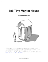 Tiny Market House Plans
