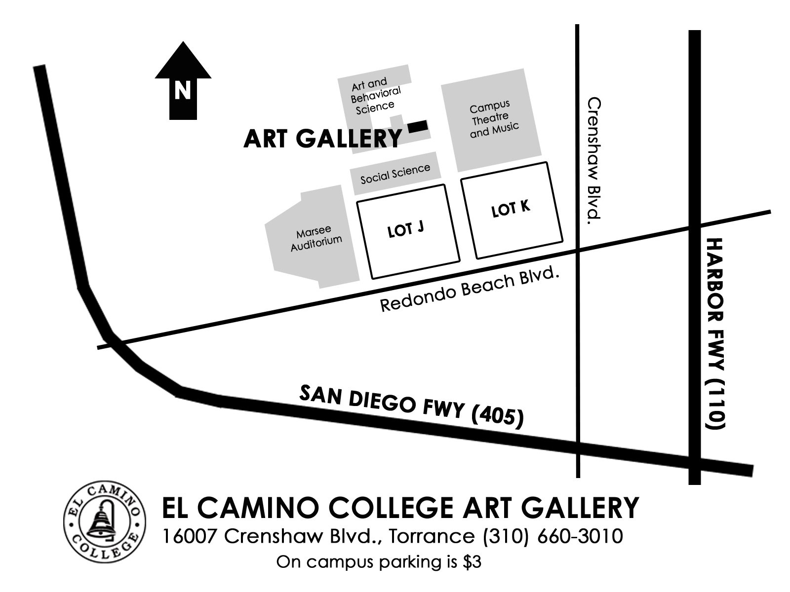 ECC art Gallery Map