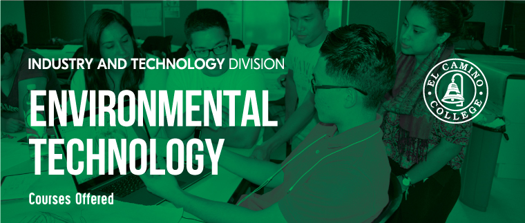Environmental Technology Courses Offered Banner