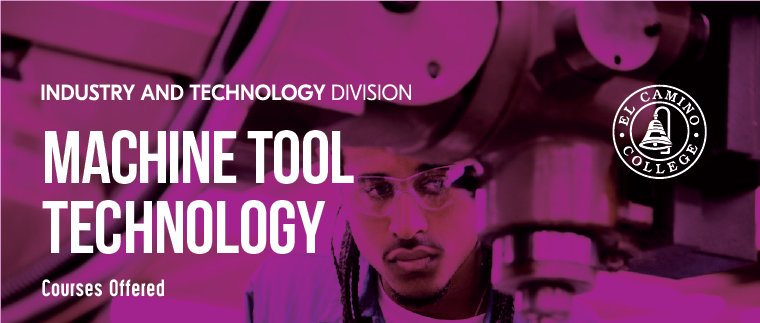 Machine Tool Technology Courses Offered Banner