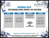 Counselor Schedule Spring 2017