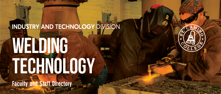 Welding Technology Faculty and Staff Directory Banner
