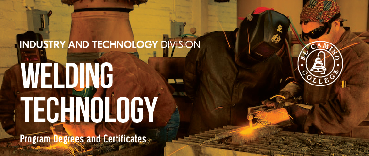 Welding Technology Courses Offered Banner