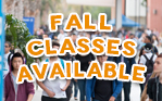 Fall Classes Available