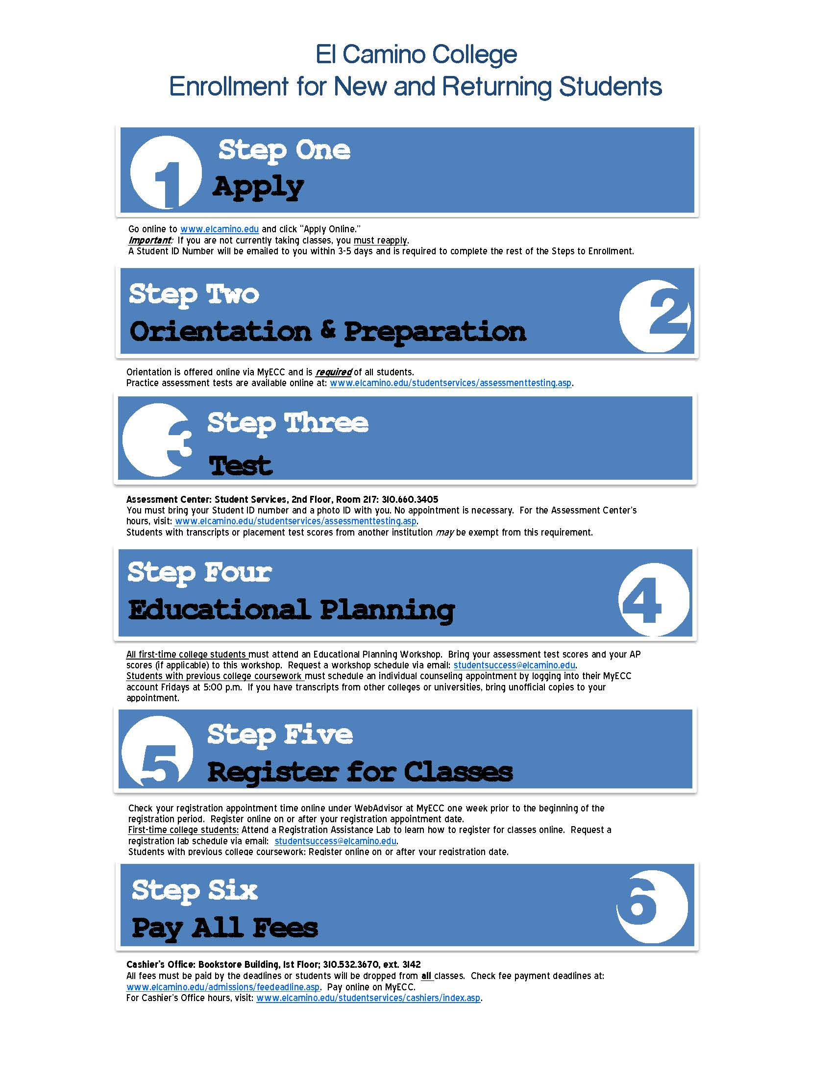 steps to enroll flyer