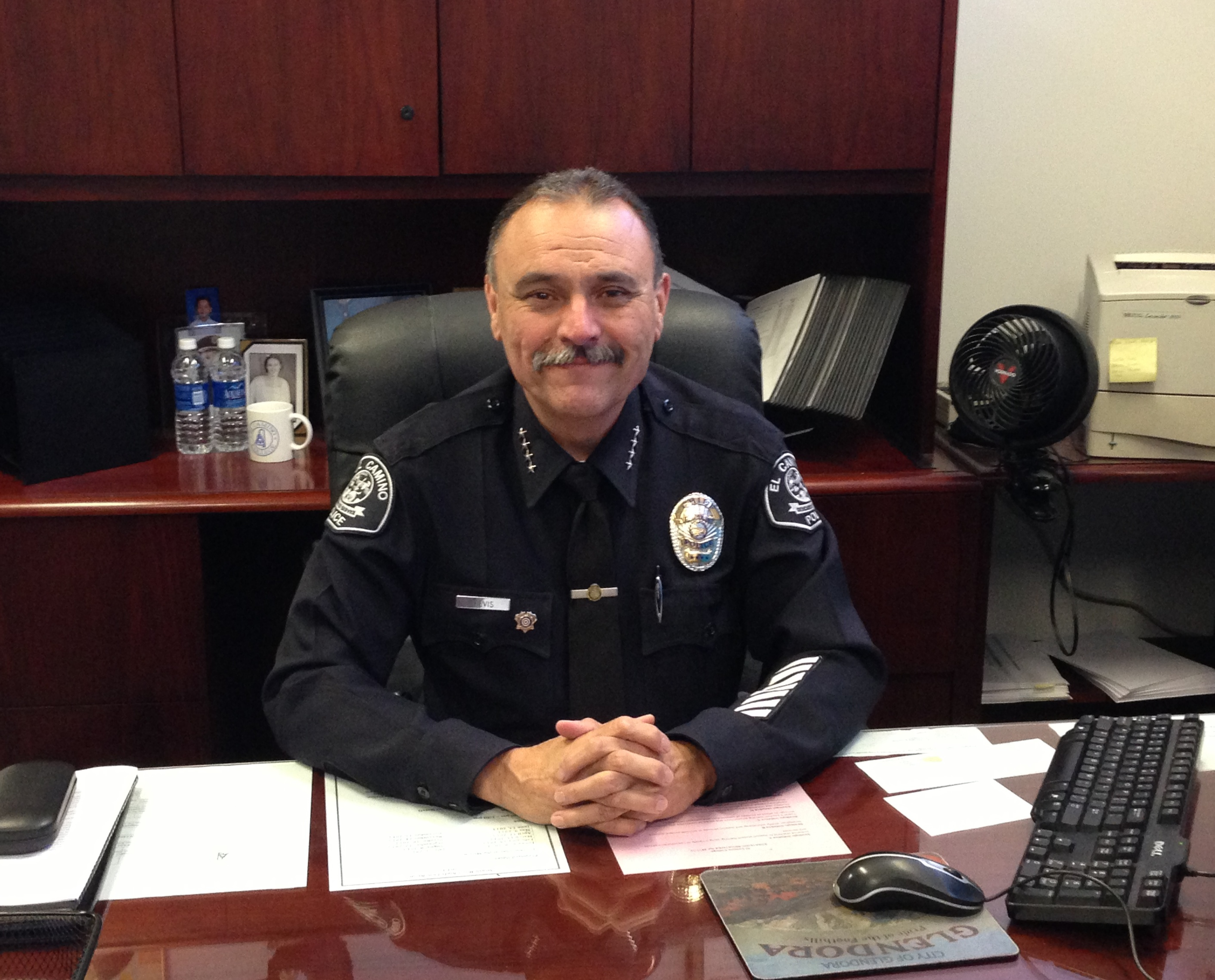 Picture of Chief of Police Michael Trevis