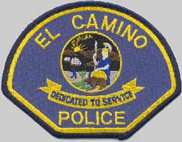 El Camino Police Patch, Color