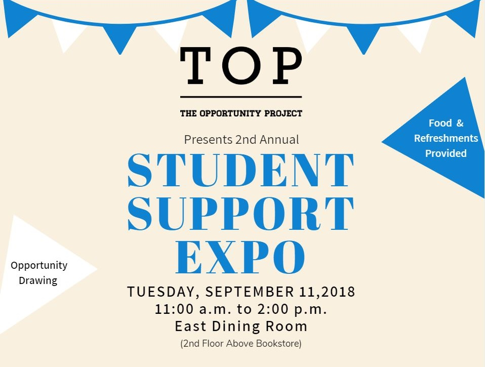 TOP Student Support Expo Save the Date