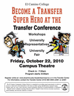 Transfer Conference Fall 2010