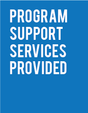 Program Support Services Provided