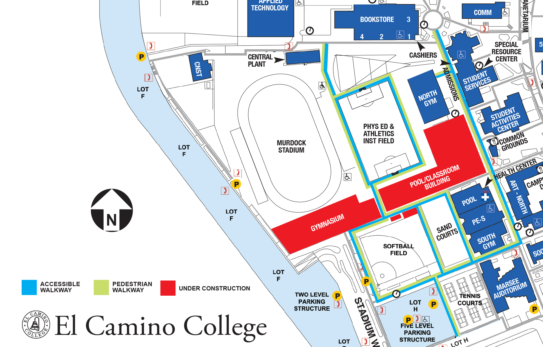 El Camino Map Construction Updates