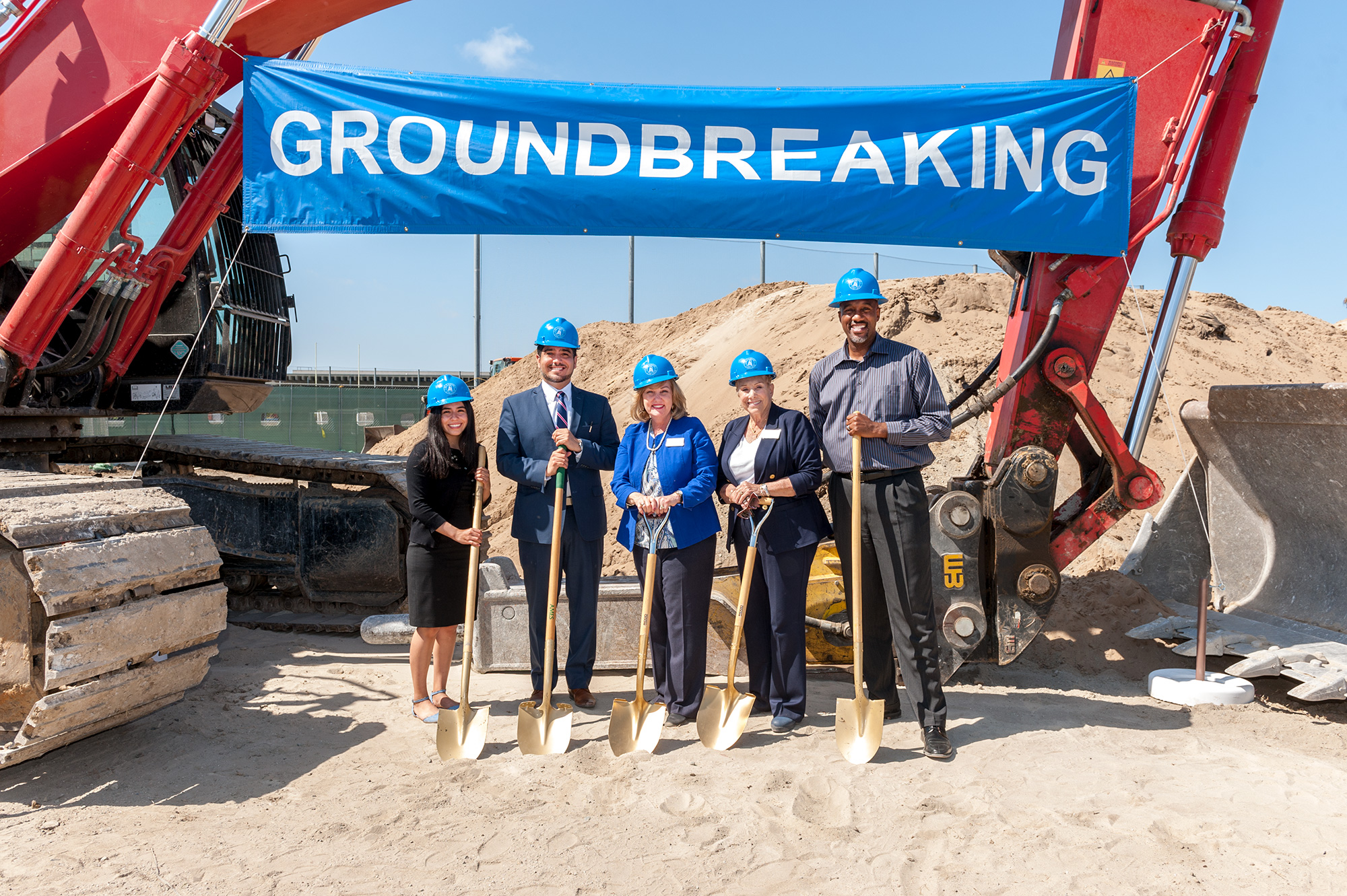 Pool Groundbreaking