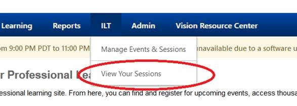 View Your Session