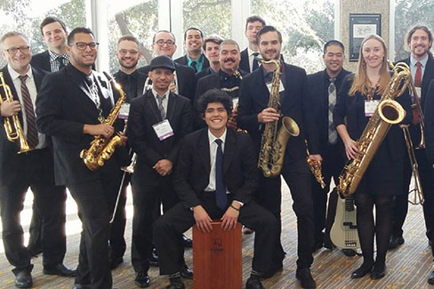 "El Camino College's Center for the Arts, the Fine Arts Division and the Jazz Program at El Camino College will present the Fifth Annual ECC Jazz Festival, ""¡Fiesta de Jazz!"" on May 5, a daylong event of musical performances and workshops."