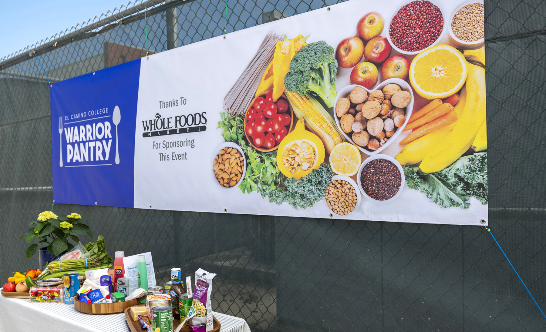 Whole Foods Market Sponsored Food Distribution to Students