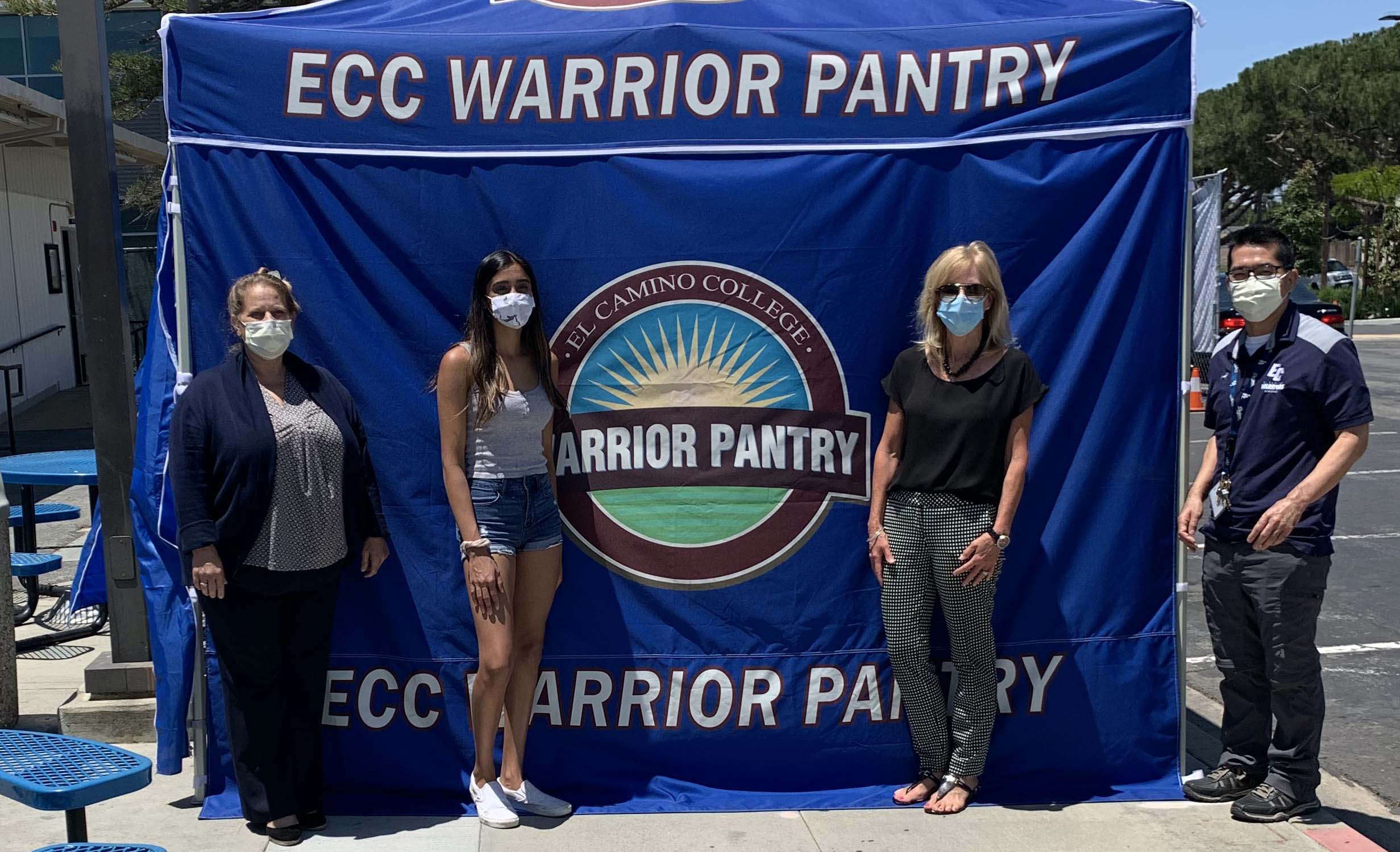 Torrance High School Sophomore Supports El Camino Colleges Warrior Pantry