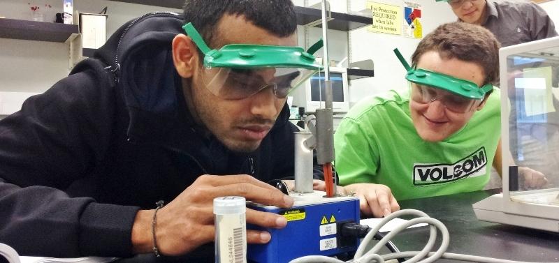 ECC Chemistry Student