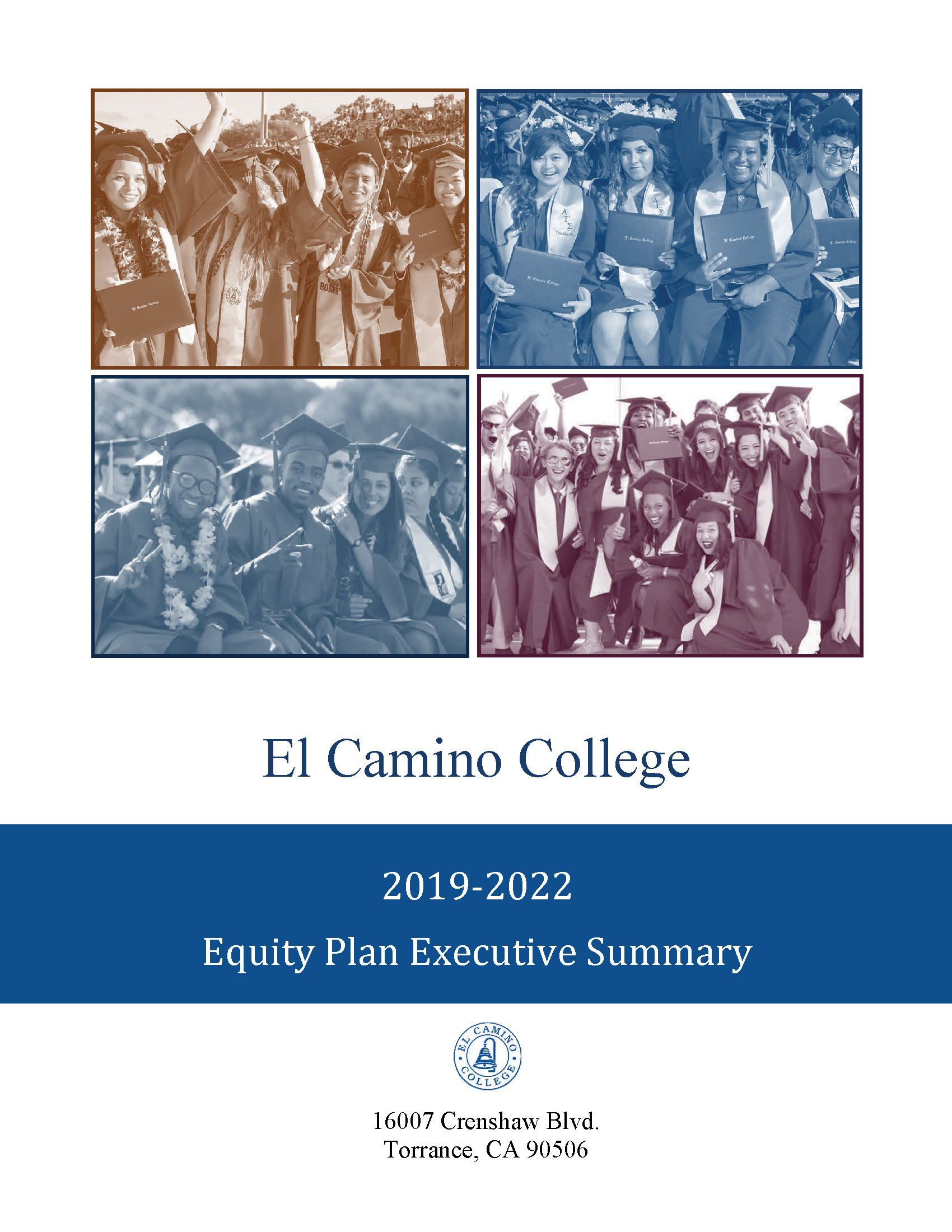 Student Equity Program 2019 - 2020 Executive Summary