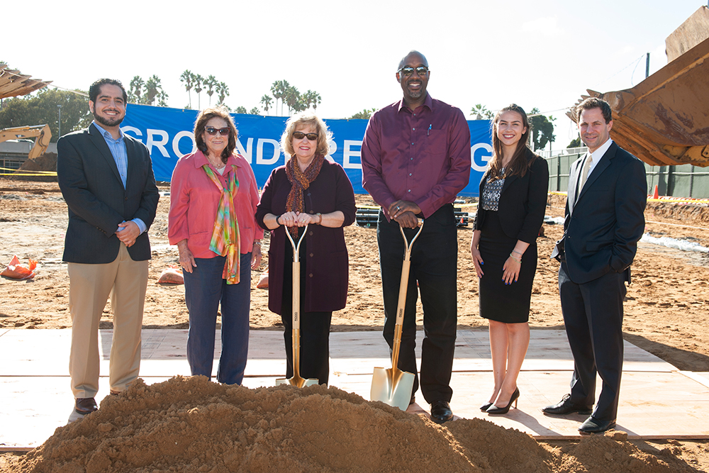 El Camino College Celebrates Gymnasium Groundbreaking