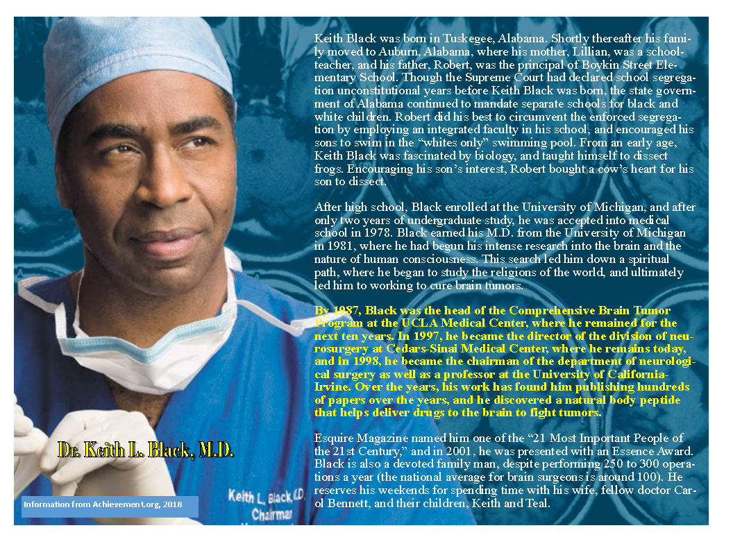 Dr. Keith Black Bio