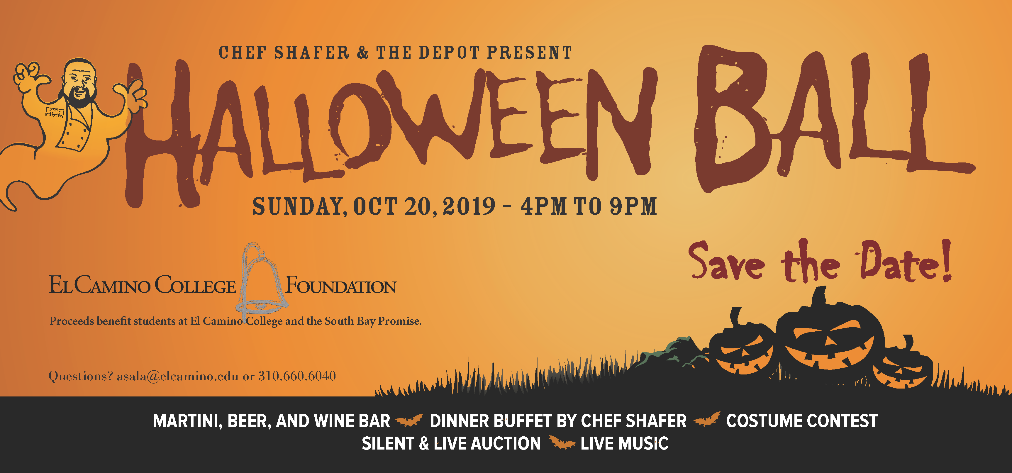 Halloween Ball Save the Date